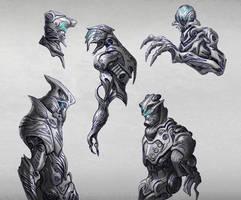 Random Cyborg Concepts - 01 by TSABER