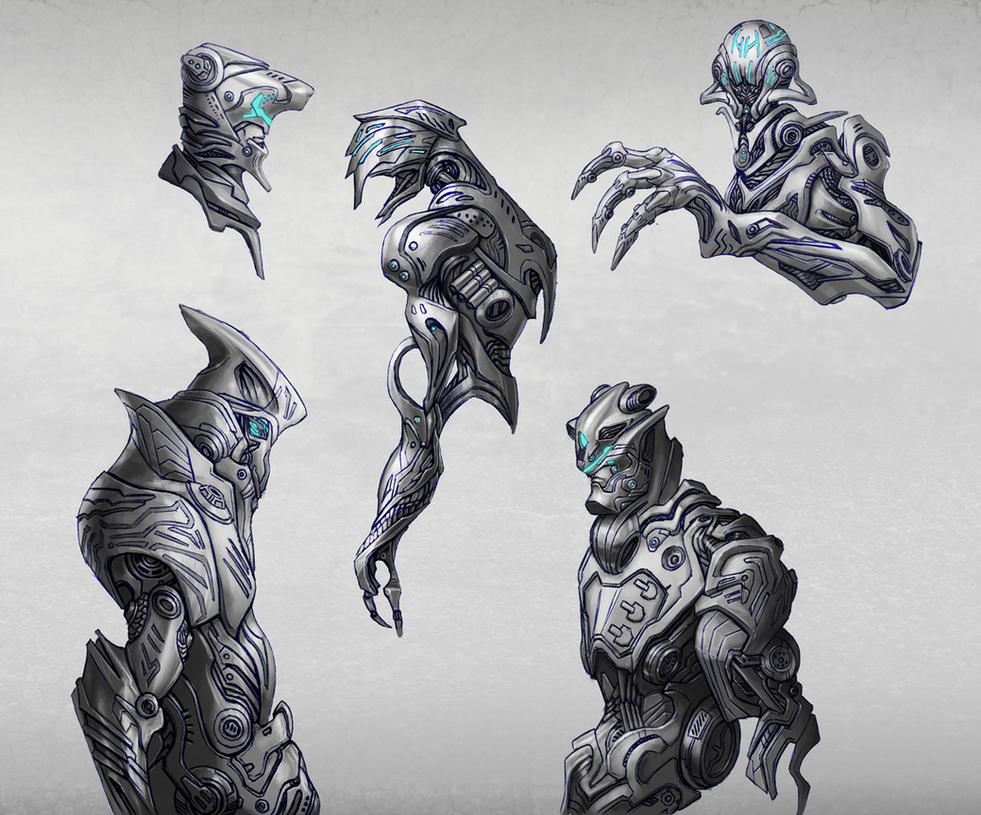 Random Cyborg Concepts - 01 by Elder-Of-The-Earth