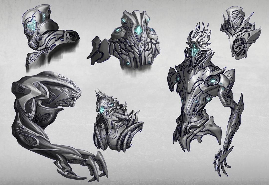 Random Cyborg Concepts - 02 by Elder-Of-The-Earth