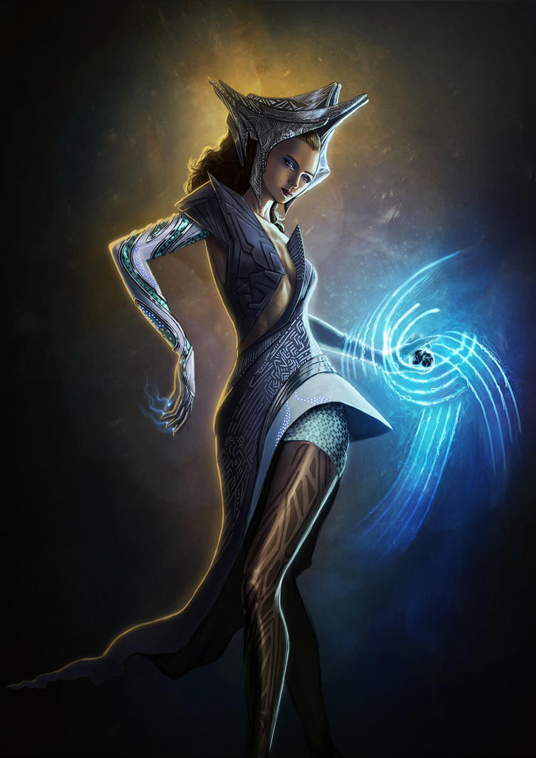 Enchantress - Scifi by TSABER
