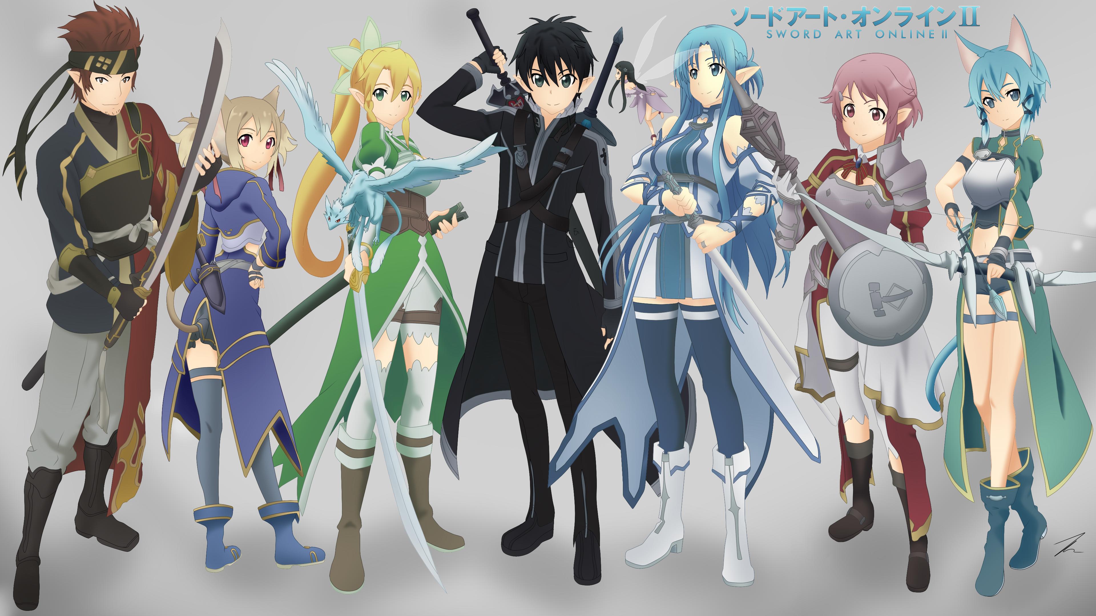 Sword Art Online Ii Wallpaper By Exede On Deviantart