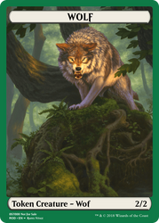 Wolf Token by ArchGothic