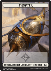 Thopter Token by ArchGothic