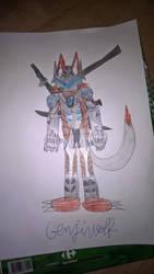Genjiwolf by madnessfoxywolf