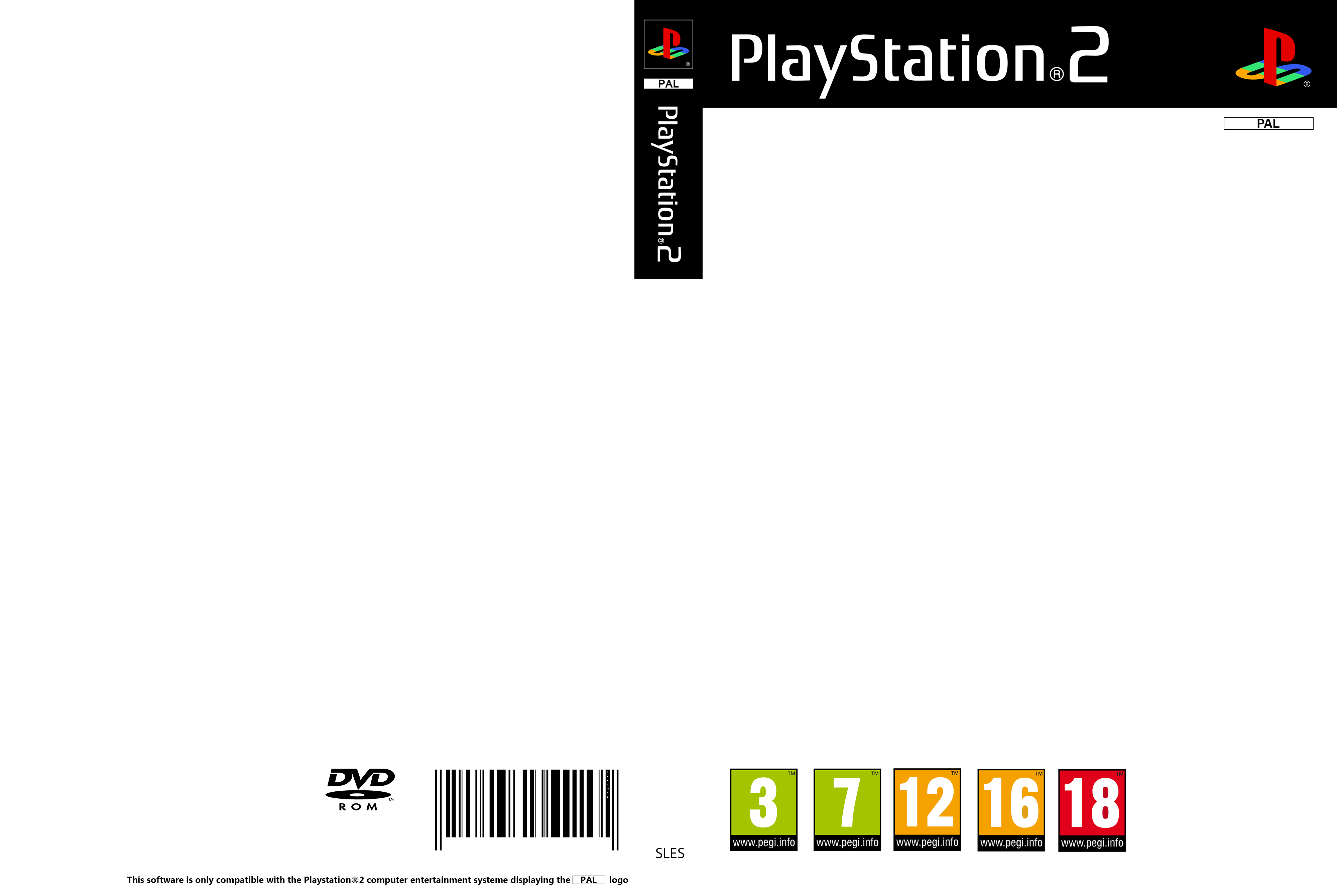 Playstation 2 Cover PAL ( Template ) by Essinay on DeviantArt