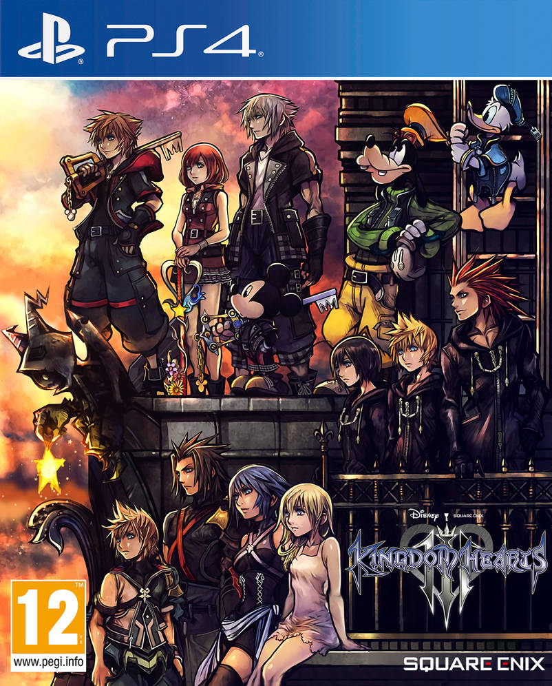 Kingdom Hearts 3 Cover by Essinay on DeviantArt