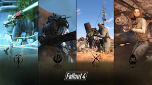 Fallout 4 : The Big 4 by jn3236