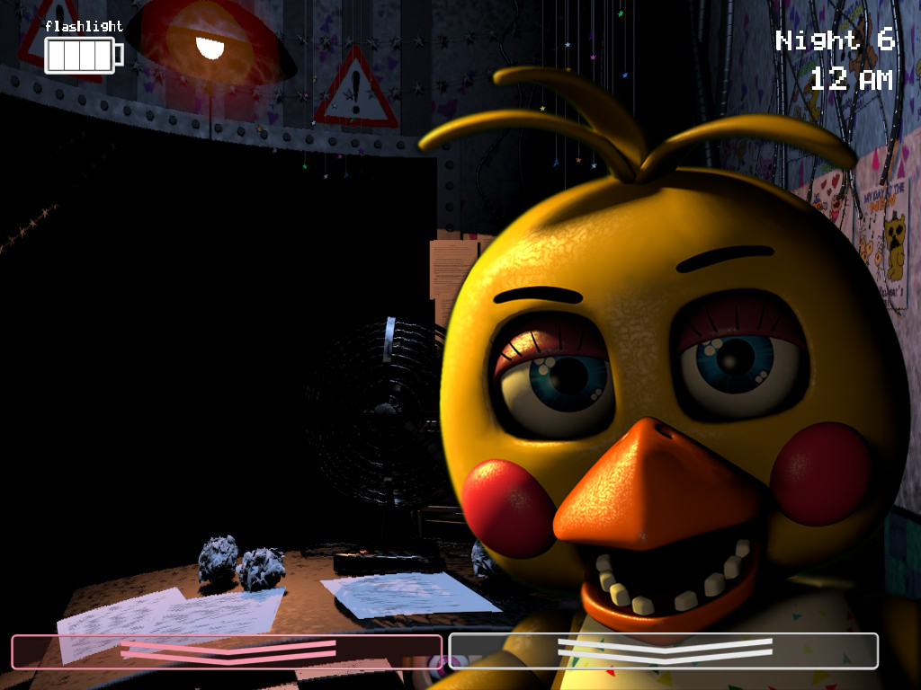 Toy Chica Jumpscare by cat34-ea on DeviantArt