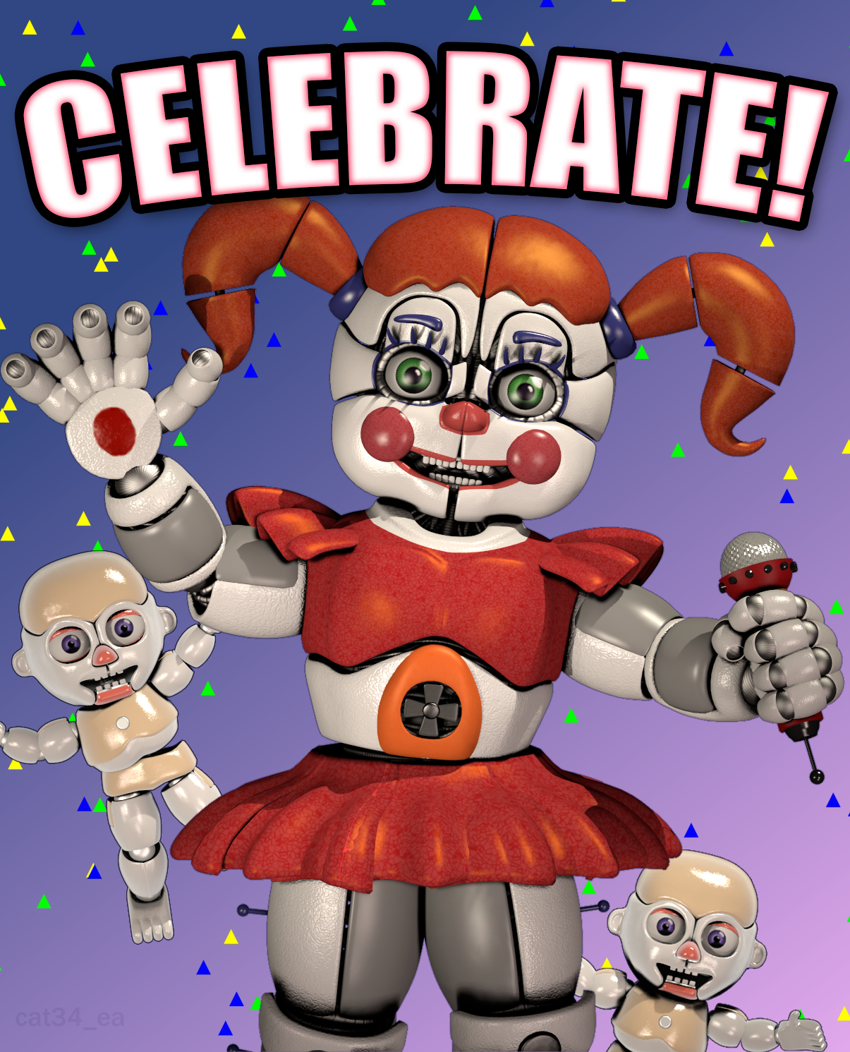 Baby Poster. SFM Remake By Cat34-ea On DeviantArt