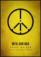 MGS: Peace Walker Minimalist by ASaucyMango