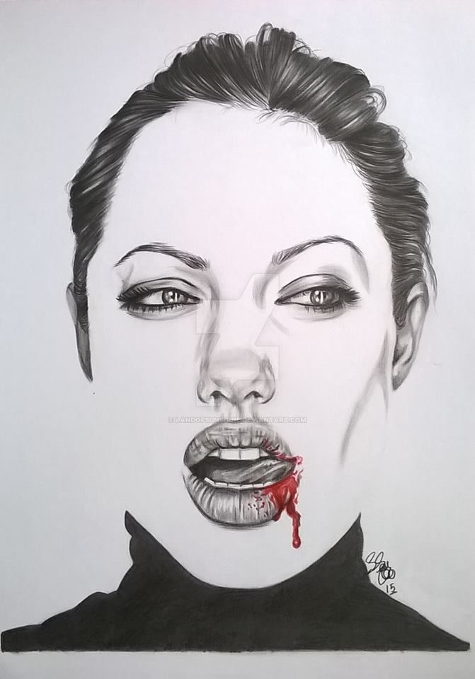Angelina Jolie by landofsunshine