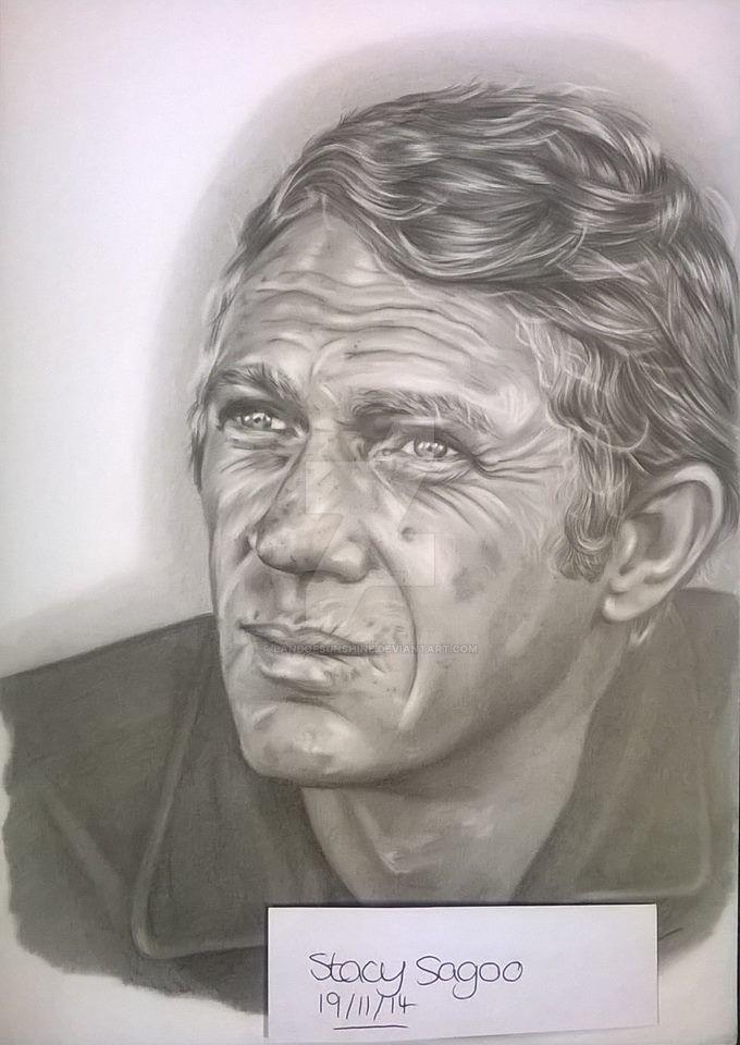 Steve McQueen by landofsunshine