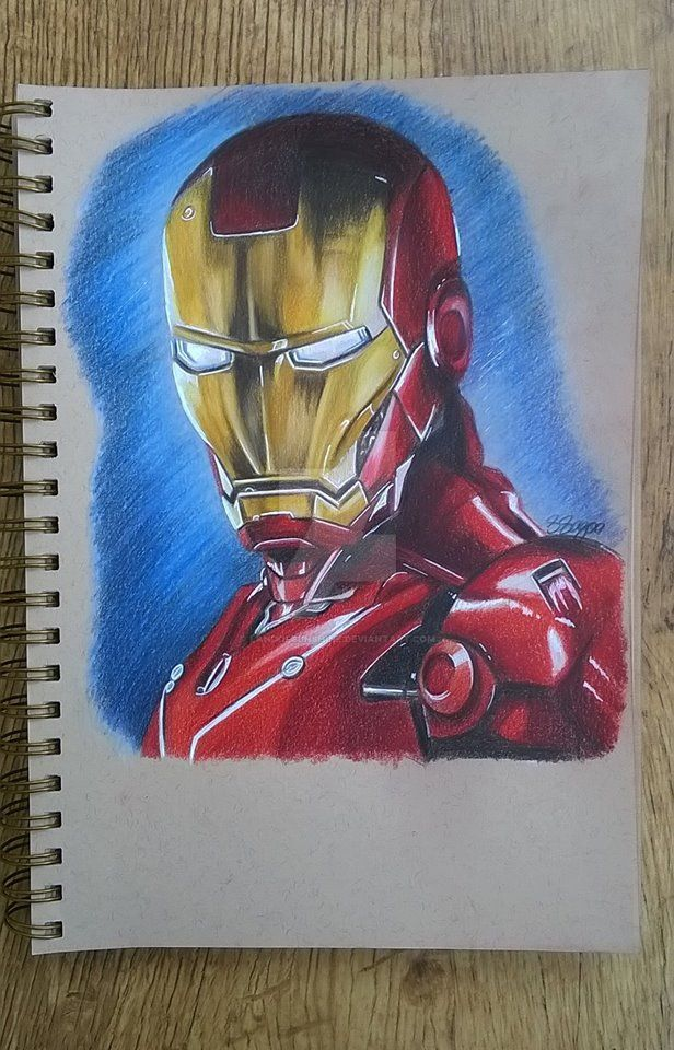 Iron Man by landofsunshine