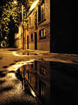 Alleyway Reflections
