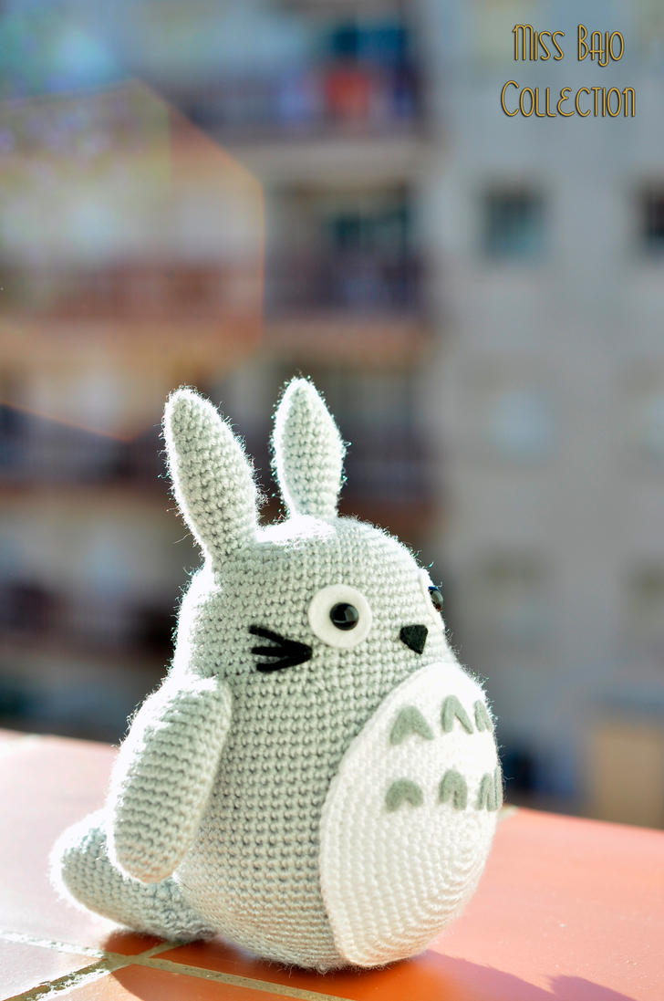 Lovely totoro by MissBajoCollection