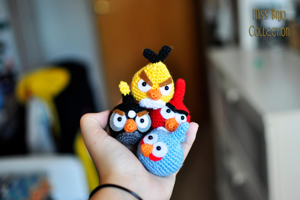 Angry Birds by MissBajoCollection