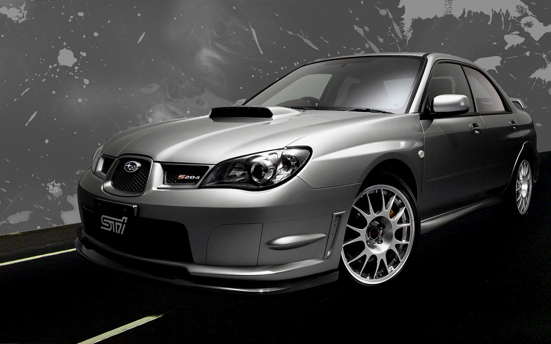 Subaru Impreza Sti Wallpaper by DejoZ