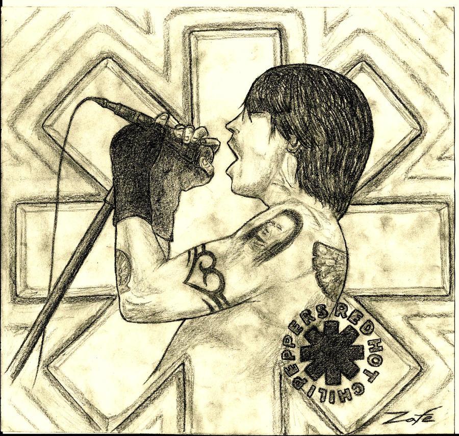 Anthony Kiedis by Zafe12
