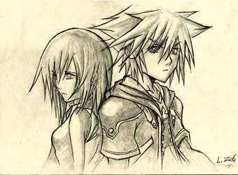 Sora y Kairi (Kingdom Hearts)