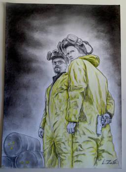 Walter White y Jesse Pinkman (Breaking Bad)