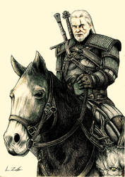Geralt of Rivia (The Witcher 3)  LUIS ZAFE