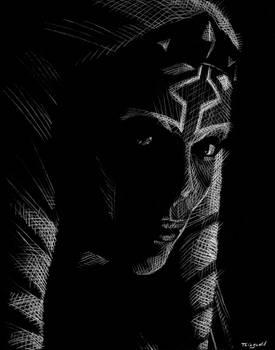 Rosario Dawson as Ahsoka Tano