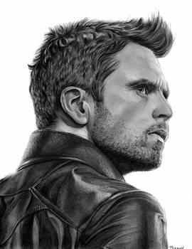 Sebastian Stan/Winter Soldier drawing