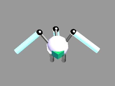 Deadly Jumper Robot by scholarwarrior-lad