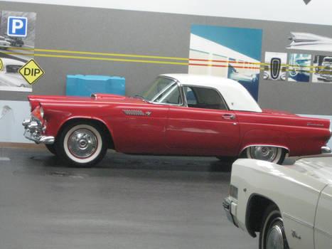 1955 Ford Thunderbird side