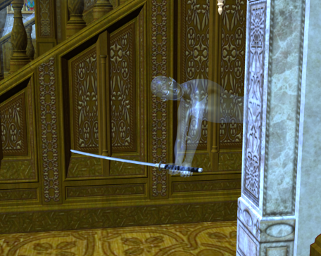 Hall ghost by scholarwarrior-lad