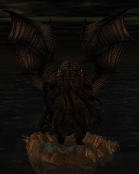 Cthulhu  stirs by scholarwarrior-lad