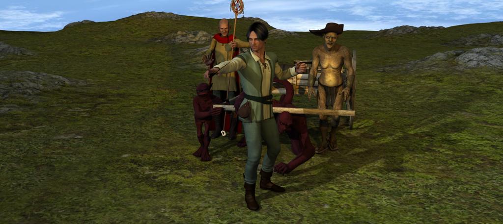 Return Triumphant by scholarwarrior-lad