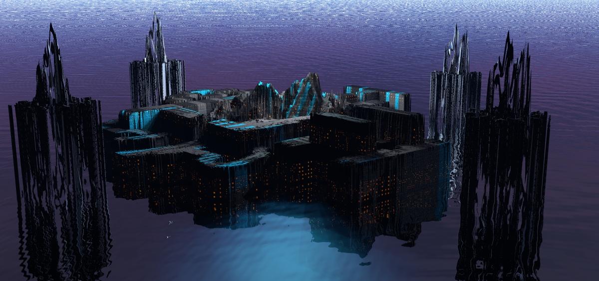 Aquatic Necropolis by scholarwarrior-lad
