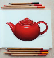 teapot by MarjoryBurnt