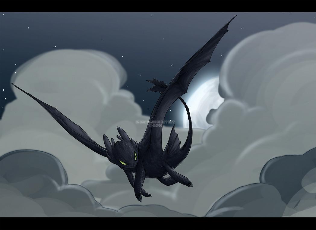 Night Fury by iPhysik