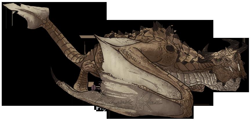 Dragon - Skyrim by iPhysik
