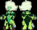 Emerald Alternative Crystal Gem Outfit