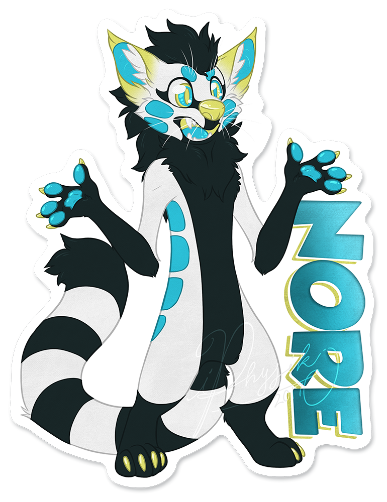 Nore - Badge by iPhysik