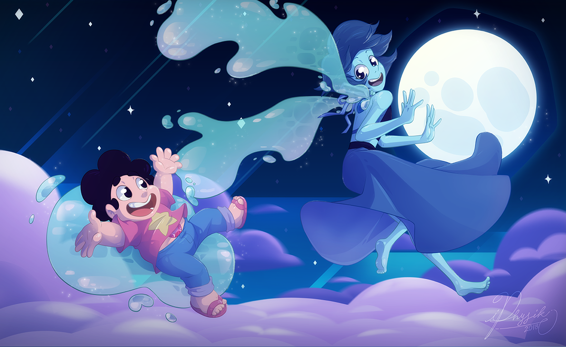 Done for a challenge on SU amino, this is actually a redraw of the first Lapis drawing i did. However i added more to it. A background and Steven to make it a scean instead of just the character. B...