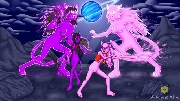 Yokai War Bagi vs Sadako