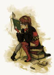 Reading Rita by ironladyisfe