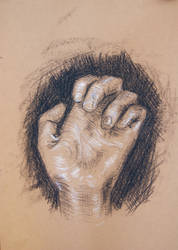 Hand, Curled by ironladyisfe
