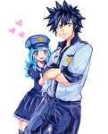 Fairy Tail City Hero Gruvia