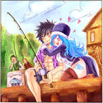 Gruvia cover (fairy tail 100 years quest)