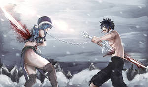 Gray and Juvia 499 chapter