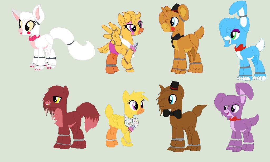 Fnaf pony adopts closed by nightlightwish on deviantart
