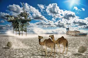 Dry Ocean by Art-Kombinat