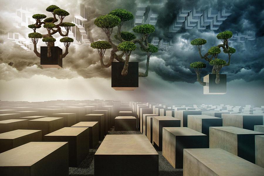 The Three Trees by Art-Kombinat