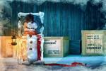 Rent a Snowman by Art-Kombinat
