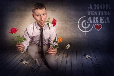 Amor hit me! by Art-Kombinat